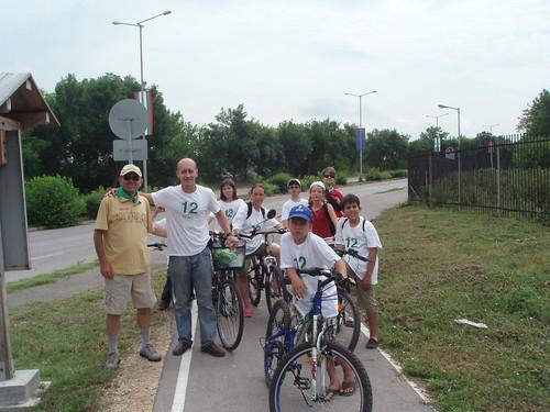 Зелен велопоход Разград