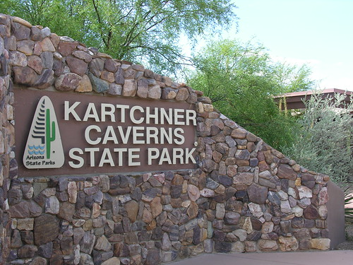 Kartchner Caverns entrance