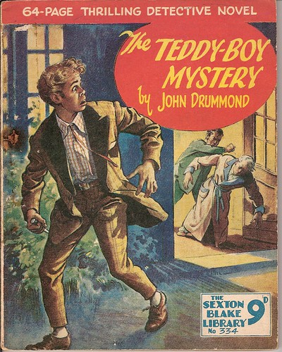 The Teddy Boy Mystery by Covers etc