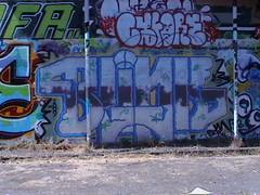 Blink (apg...) Tags: seattle wall graffiti free graffitti graff bomb sodo handstyle throwie freewall