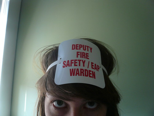 I am a Deputy Fire Warden.