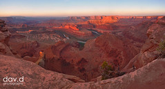 dead-horse-point-panorama-1 (dav.d) Tags: panorama landscape dawn utah moab deadhorse