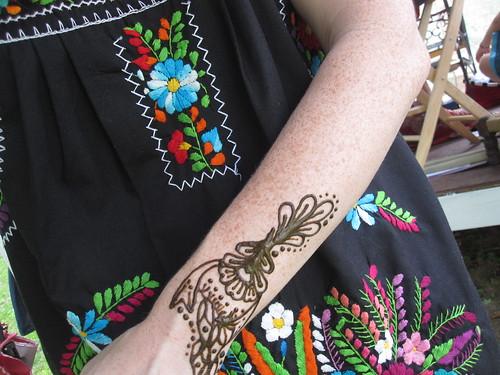 Bridesmaidal Henna - Check.