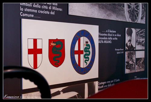 Alfa Romeo - Lo Stemma