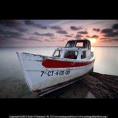 36_52: Barco Molino Calcetera (tpeñalver - www.tomaspenalver.es) Tags: longexposure costa canon long exposure barco tokina 7d larga sanpedrodelpinatar exposición canonslr largaexposición nd400 lopagán 52weeks 116mm 1116mm 52semanas tpenalver molinodelacalcetera nd06reversehitech
