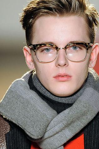 メガネ男子 Daniel Hicks_FW09_NY_Marc by Marc Jacobs