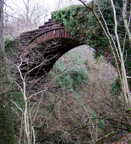 Old bridge Auchinleck house 15Feb09