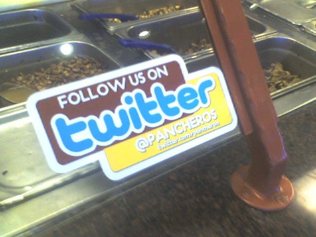 Twitter ad for @pancheros at their ames location.