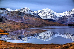 Winter Reflections (Shuggie!!) Tags: snow mountains reflection water landscape scotland williams karl loch aberfoyle arklet anawesomeshot colorphotoaward theunforgettablepictures flickrlovers karlwilliams newgoldenseal