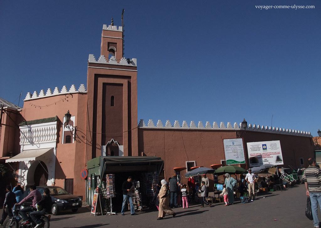 Mosquée de Marrakech la rouge