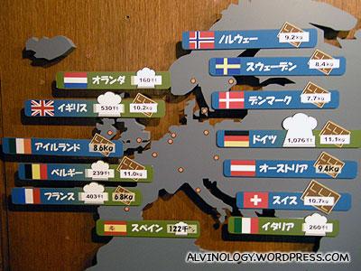 Worlds top ten chocolate