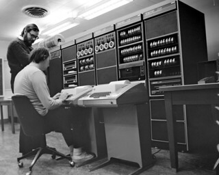 Unix Creators at DEC PDP11