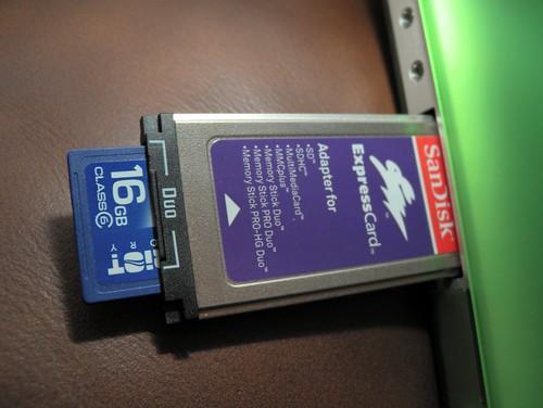 Expresscard Multicard Reader