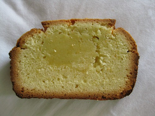 Historic Pound Cake Slice