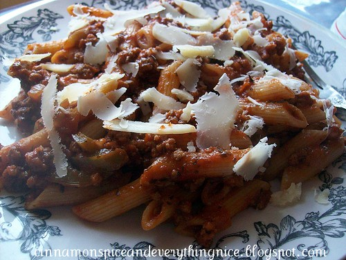 'Fuhgettaboutit' Meat Sauce & Pasta