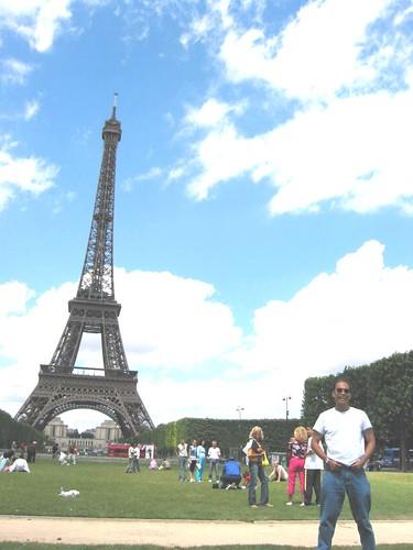 me at Eiffel