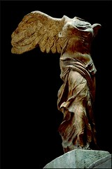 Winged Victory of Samothrace (our cultural archive) Tags: thewingedvictoryofsamothrace hellenistic greeksculpture louvremusuem paris france lavictoiredesamothrace nikitissamothrakis femaletorso greek sculpture marble oarsquare cate copenhaver catecopenhaver