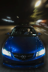 -T S X- (moiht) Tags: blue blur night speed canon honda shot flash fast import acura tsx hids sb800 speedlite abp strobist 40d 430exii lcrazyaznl