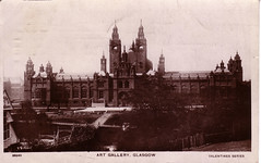 Kelvingrove Art Gallery, Argyle Street, Glasgow (1900) (Brownie Bear) Tags: street uk art j scotland gallery britain glasgow postcard united great kingdom moore gb argyle miss category kelvingrove listed listedbuilding a hbnumber33071 listedbuildingofscotland
