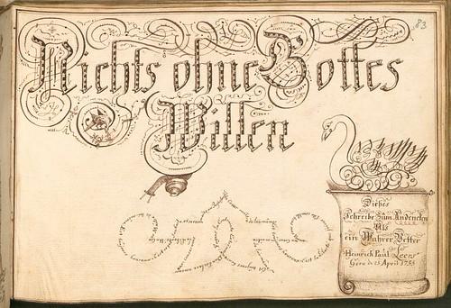 Liber Amicorum - Johann Christian Sigmund Mönch h
