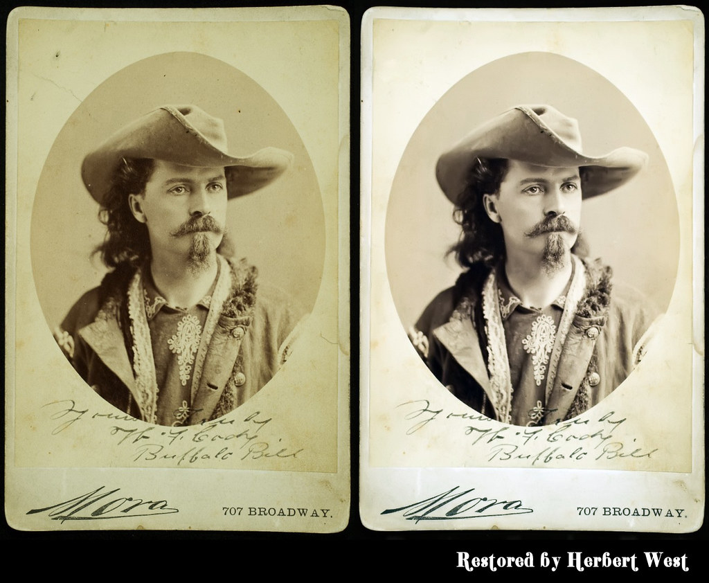 "Restore of W.F. ""Buffalo Bill"" Cody"