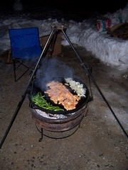 SlikVik Griddles of Maine (Central Maine Bench Reporter) Tags: camping cooking breakfast dinner iron maine cast lewiston cheeseburgers griddles slikvik