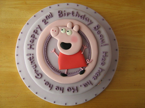 Peppa Pig and George Cake (top)