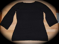 Black Textured Tunic3