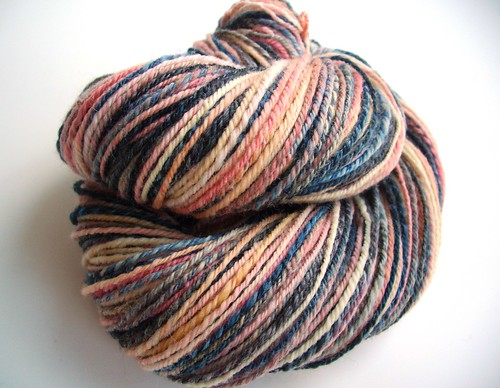 Girl with pearl Earring, 229yds, navajo plied, Corriedale by Electric Sheep Fibers-5