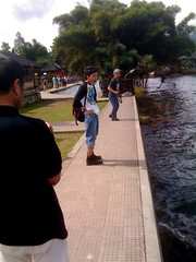 Beratan Lake (yojirock) Tags: trip travel bali lake indonesia iphone beratan iphotorating0