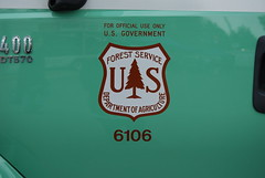 USDA FOREST SERVICE ANF FIRE TRUCK DOOR DECAL (Navymailman) Tags: forest us united service states agriculture department usda of
