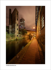 """Capture Manchester"" photo competition (Ian Bramham) Tags: street city urban colour night landscape manchester canal photo nikon explore beethamtower d40 manchesteratnight ianbramham capturemanchester"
