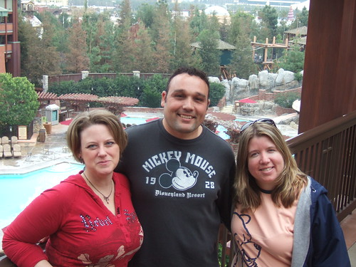 (L to R) Nancy, Tony, and Wendy at the Grand Californian Hotel