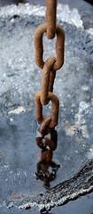 Chain and ice (6PPC) Tags: ice rust pentax chain 1855mm rustyandcrusty kmount kartpostal k200d justpentax ilovemypics rubyphotographer