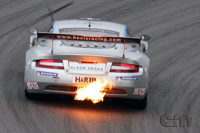 auto car dumas germany sachsen em 2008 astonmartin motorsport db9 dbrs9 sachsenring adacgtmasters hohenadel eplusm
