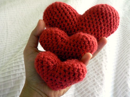 Crochet Heart : Crochet Hearts Salihan Crafts Blog