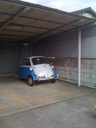 My isetta in Tsuchiura Japan [Apr. 04. 2009]