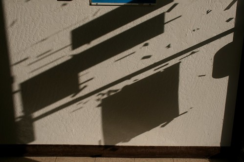 Glass Door Shadows