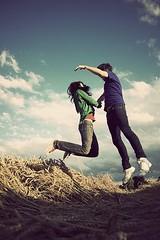 Que tal si tu y yo (que ond/microonda) Tags: love jump deutschetelekom invitedby