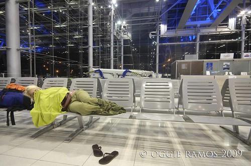 suvarnabhumi airport overnighter