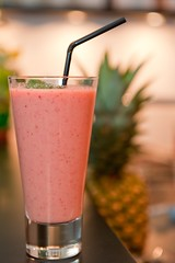 pink! (Matthias Rhomberg) Tags: summer portrait glass fruits fruit bar mixed nikon drink sommer straw smoothie frucht glas frchte getrnk hochformat trinkhalm gemixt d700