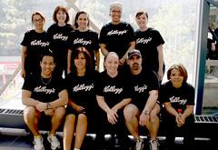 Climb Teams from Kellogg's (WWF-Canada) Tags: climb cntower atrium kelloggs teamchallenge wwfcanada