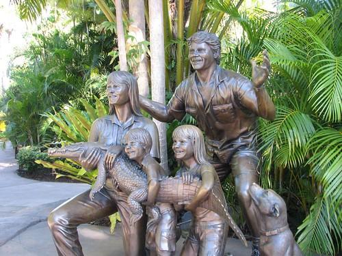 The Irwins sculpture