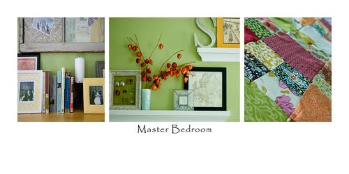 bedroom storyboard
