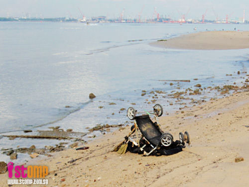 Pollution makes Sembawang beach unsuitable for swimming