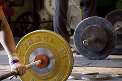 In both organizing and weightlifting, you want to push your limits. But if you try to vastly overshoot your limits, you do more harm than good.