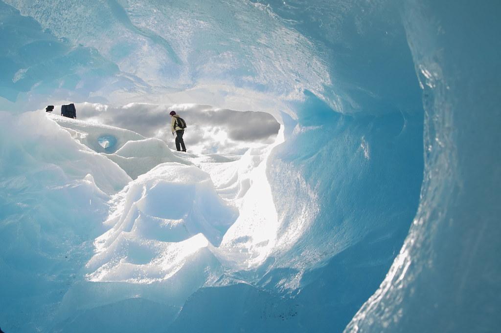 fun in an ice cave - 2