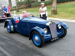 1938 Georges Irat 6CV at Amelia Island 2009 (gswetsky) Tags: museum french antique 1938 lane concours georges ameliaisland irat 6cv