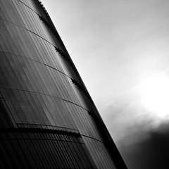 Dark square 2/7 (96dpi) Tags: sunset blackandwhite bw berlin glass facade square sonnenuntergang sonycenter sw schwarzweiss 70200 glas fassade quadrat