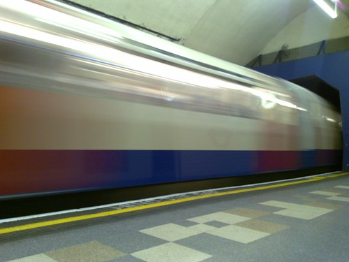 Piccadilly line train, by markhillary, on Flickr